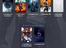 Tậu ngay bộ game bản quyền Resident Evil, Lost Planet siêu rẻ, chỉ có giá 1 USD !