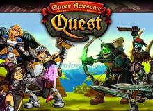 """Super Awesome RPG - Game mới có lối chơi """"lật gạch"""""""