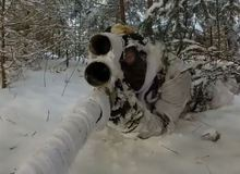 Ấn tượng với siêu cao thủ súng ngắm airsoft bắn đỉnh như trong game