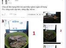 Hài hước: Chủ quán net khoe cả chậu ngập tiền lẻ với đồng nghiệp