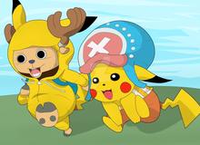 Không ngờ Pikachu và Chopper - One Piece lại chung tiếng nói