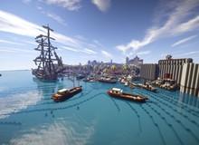 Mất gần 3 năm, thành phố của Assassin's Creed IV được tái hiện trong Minecraft