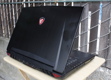 Đánh giá laptop chơi game MSI GT72VR 6RE Dominator Pro Tobii