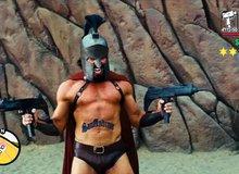 Không thể nhịn cười với chiến binh Spartan phiên bản... GTA