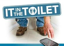 Game thủ Việt, đừng cầm điện thoại theo người vào WC nữa!