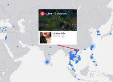 Nhìn vào bản đồ này mới thấy được nghề stream game tại Việt Nam đông đảo đến thế nào