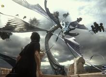 """""""Nhá hàng"""" màn đại chiến với khủng long và thủy quái, Final Fantasy XV khiến người hâm mộ đứng ngồi không yên"""