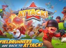 """Fieldrunners Attack - Clash of Clans """"phiên bản súng ống"""" tuyệt hay ra mắt toàn cầu"""
