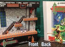 Độc đáo game kinh điển được tái hiện bằng mô hình giấy