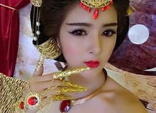 Hot girl 'búp bê' Lilly Luta trở thành đại sứ game Đế Vương Bá Nghiệp