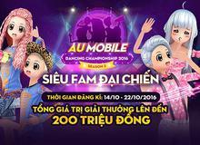 """Au Mobile Dancing Championship 2016 liệu có """"Hot"""" trở lại"""