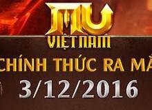 MU Việt Nam ra mắt ngập tràn quà tặng ngày 03/12/2016