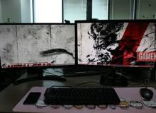 Bộ đôi màn hình 24 inch chưa đầy 4 triệu, xem phim chơi game thả phanh