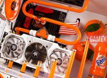 Độc đáo bộ máy tính 'nước cam ép' siêu giải nhiệt cho mùa hè