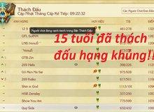 Việt Nam xuất hiện thần đồng mới toanh 15 tuổi top 12 thách đấu Liên Minh Huyền Thoại