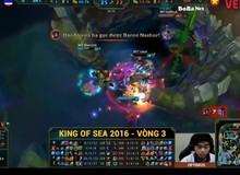 King of SEA 2016 (Game 1): Boba Marines hủy diệt BKT bằng 2 pha cướp Baron thần thánh