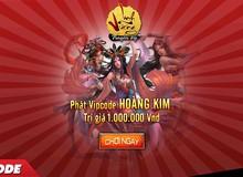 SohaPlay tặng 300 Vip Code Webgame Linh Vương Truyền Kỳ trị giá 1 triệu VND