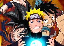 Khai mở máy chủ mới, Manga GO tặng ngay bộ ba Naruto, Luffy và Son Goku