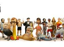 Độc đáo bộ điêu khắc ghép mặt đạo diễn với phim nổi tiếng của họ