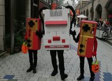 Choáng với máy điện tử 4 nút chạy rông giữa đường phố Nhật Bản