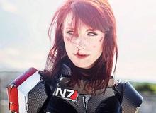 "Cosplay ""hot girl"" Mass Effect đẹp miễn chê"