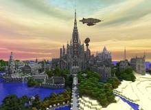 Tòa lâu đài sừng sững này là thành quả 5 năm của game thủ cuồng Minecraft