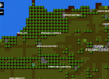 Không ngờ tấm bản đồ game xấu xí này lại chính xác y như đời thực