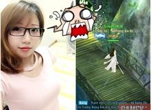 """Nữ game thủ Việt xinh đẹp thế này mà còn bị đệ tử """"bơ lác"""""""