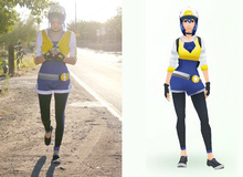 Nữ huấn luyện viên Pokemon xuất hiện ngoài đời thực