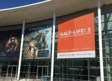 """""""Hoảng hồn"""" vì poster Half Life 3 bất thình lình xuất hiện ở hội chợ game lớn"""