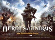 Game thế chiến thứ 2 Heroes & Generals chính thức mở cửa miễn phí, gamer Việt có thể chơi ngay