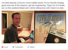Đến ông chủ Facebook cũng mê đắm tựa game chiến thuật hay nhất mọi thời đại