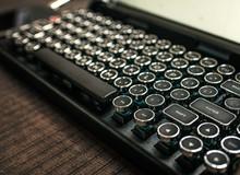 Trên tay QWERKYWRITER: Bàn phím cơ kết nối Bluetooth cổ điển siêu đẹp