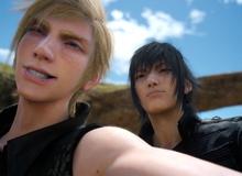 Chụp hình tự sướng là một kĩ năng trong Final Fantasy XV