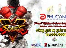 Giải đấu Street Fighter 'bạc triệu' dành cho game thủ Việt chính thức khởi tranh