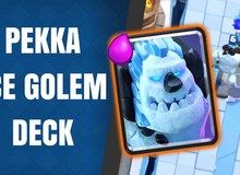 Clash Royale: Deck Double Golem cực lợi hại cho Arena 8