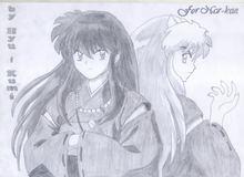 Chiêm ngưỡng bộ ảnh vẽ tay tuyệt đẹp của anh chàng bán yêu Inuyasha