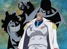 One Piece: Loạt ảnh chứng minh sức mạnh của của ông nội Luffy ngang ngửa với cựu vua hải tặc