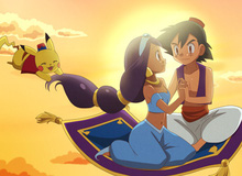 Sẽ thế nào nếu Pokemon và Walt Disney hợp tác làm phim hoạt hình?