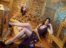 Ngắm đôi chân dài miên man của nàng Boa Hancock trong One Piece