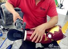 Fan cuồng bỏ hơn 3,5 tỷ VNĐ tự chế áo giáp sắt siêu việt của Iron man