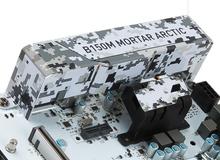 """Đánh giá MSI B150M Mortar Arctic - """"Hoàng tử bạch mã"""" cho máy tính bình dân và tầm trung"""