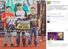 Game thủ Việt vô địch giải PES trên đất Malaysia được bạn bè quốc tế ngưỡng mộ