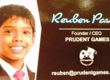 Mới 10 tuổi, cậu bé này đã quản lý công ty game, là hacker và chuyên gia an ninh mạng