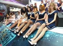 """Các dàn """"tường showgirl"""" ấn tượng ở hội trường ChinaJoy 2016"""