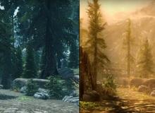 Skyrim bản mới trông còn thua cả game cũ dùng mod