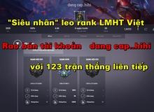 """""""Đông Phương Bất Bại"""" của Liên Minh Huyền Thoại Việt bất ngờ rao bán tài khoản giá rẻ"""