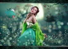 Hot girl Ny Saki tung ảnh cosplay đẹp, mừng game online Vân Trung Ca chính thức ra mắt