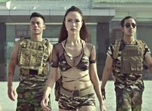 """Hoa Hậu Vũ Ngọc Anh """"đốt mắt"""" game thủ trong Trailer Phi Đội 2 như phim bom tấn"""
