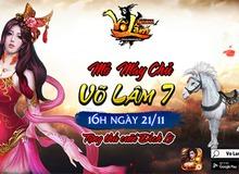 Khai mở máy chủ mới, Võ Lâm Returns tặng 500 anh em GiftCode hành tẩu giang hồ